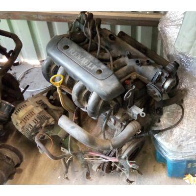 Renault 1.2 8v Motor (fűzött blokk hengerfejjel)