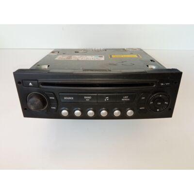 Citroen / Peugeot BLAUPUNKT CD Rádió
